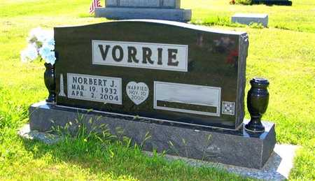 VORRIE, NORBERT J. - Webster County, Iowa | NORBERT J. VORRIE