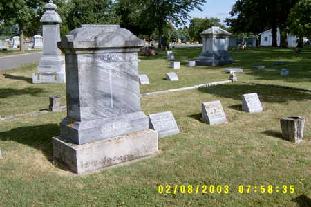 BAYERS, FAMILY  PLOT - Winnebago County, Iowa | FAMILY  PLOT BAYERS