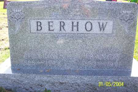 BERHOW, FRANCIS - Winnebago County, Iowa | FRANCIS BERHOW