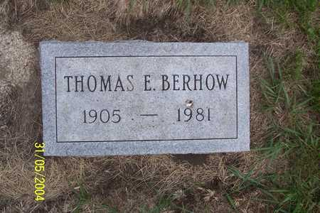 BERHOW, THOMAS E. - Winnebago County, Iowa | THOMAS E. BERHOW