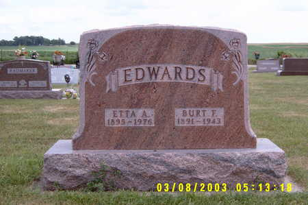 EDWARDS, ETTA A - Winnebago County, Iowa | ETTA A EDWARDS