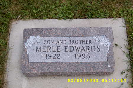 EDWARDS, MERLE - Winnebago County, Iowa | MERLE EDWARDS