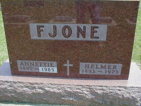 FJONE, HELMER - Winnebago County, Iowa | HELMER FJONE