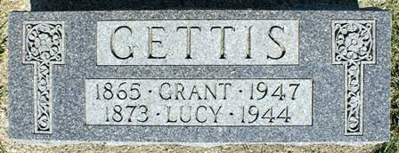 GETTIS, GRANT - Winnebago County, Iowa | GRANT GETTIS