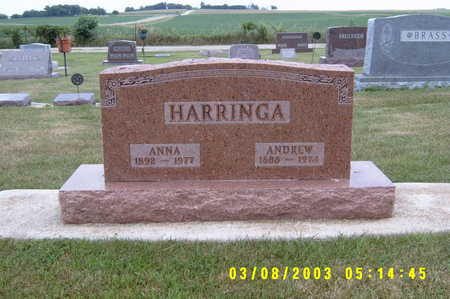 HARRINGA, ANNA - Winnebago County, Iowa | ANNA HARRINGA