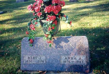 JOHNSON, ANNA - Winnebago County, Iowa | ANNA JOHNSON