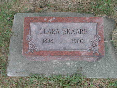 SKAARE, CLARA - Winnebago County, Iowa | CLARA SKAARE