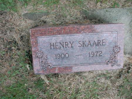 SKAARE, HENRY - Winnebago County, Iowa | HENRY SKAARE