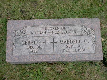 SKOGEN, GERALD M - Winnebago County, Iowa | GERALD M SKOGEN