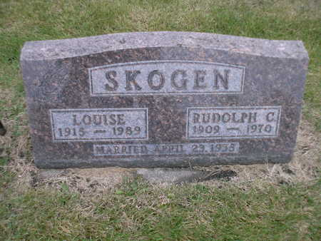 SKOGEN, LOUISE - Winnebago County, Iowa | LOUISE SKOGEN