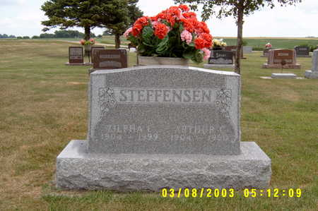 STEFFENSEN, ARTHUR - Winnebago County, Iowa | ARTHUR STEFFENSEN