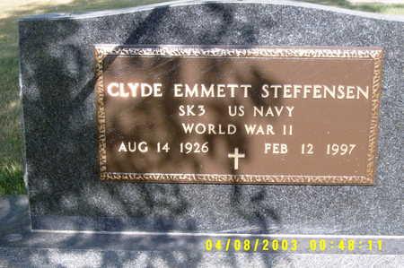 STEFFENSEN, CLYDE E - Winnebago County, Iowa | CLYDE E STEFFENSEN