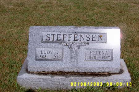 STEFFENSEN, LUDVIG - Winnebago County, Iowa | LUDVIG STEFFENSEN