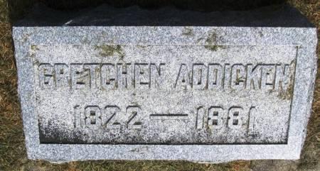 ADDICKEN, GRETCHEN - Winneshiek County, Iowa | GRETCHEN ADDICKEN