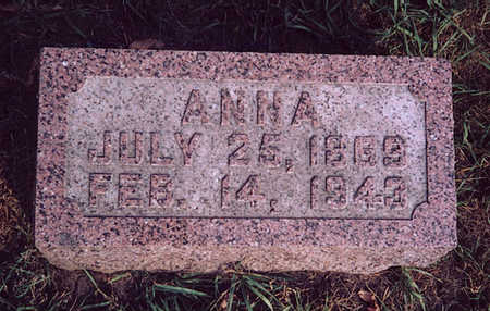 ALBERTSON, ANNA - Winneshiek County, Iowa | ANNA ALBERTSON