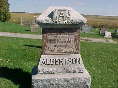 ALBERTSON, INGEBORG - Winneshiek County, Iowa | INGEBORG ALBERTSON