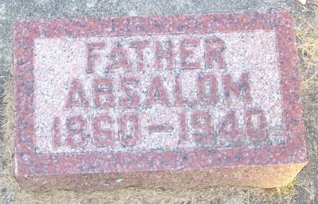 AMES, ABSALOM - Winneshiek County, Iowa   ABSALOM AMES