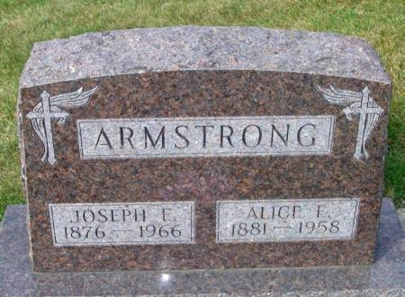 ARMSTRONG, ALICE E. - Winneshiek County, Iowa | ALICE E. ARMSTRONG