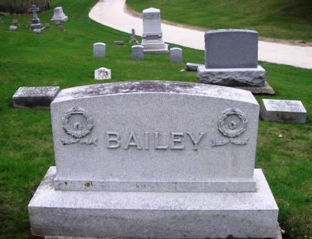BAILEY, WESLEY FAMILY STONE - Winneshiek County, Iowa | WESLEY FAMILY STONE BAILEY