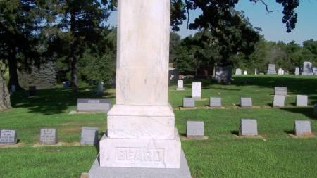 BEARD, WILLIAM FAMILY STONE - Winneshiek County, Iowa | WILLIAM FAMILY STONE BEARD