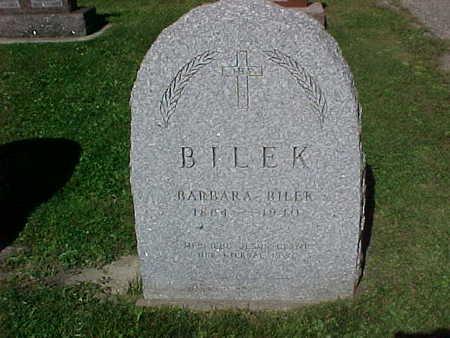 BILEK, BARBARA - Winneshiek County, Iowa   BARBARA BILEK