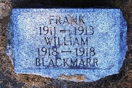 BLACKMARR, WILLIAM - Winneshiek County, Iowa | WILLIAM BLACKMARR