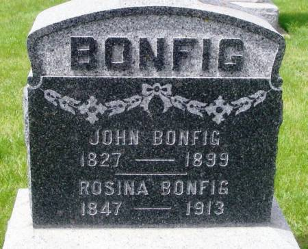 BONFIG, ROSINA - Winneshiek County, Iowa | ROSINA BONFIG