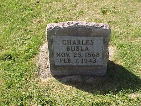 BUBLA, CHARLES - Winneshiek County, Iowa | CHARLES BUBLA