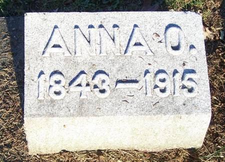 CADWELL, ANNA O - Winneshiek County, Iowa | ANNA O CADWELL