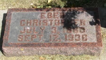 CHRISTOPHER, EBER - Winneshiek County, Iowa | EBER CHRISTOPHER