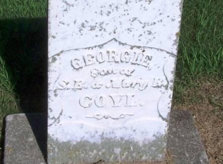COYL, GEORGIE - Winneshiek County, Iowa   GEORGIE COYL