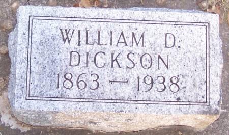 DICKSON, WILLIAM D - Winneshiek County, Iowa | WILLIAM D DICKSON
