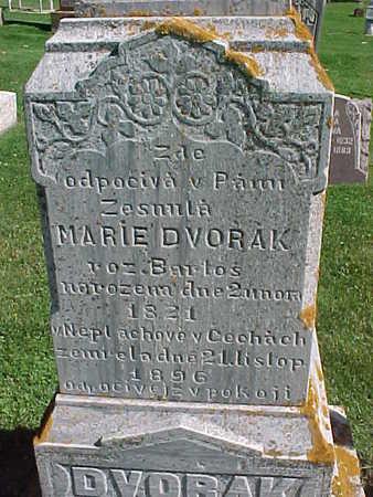 DVORAK, MARIE - Winneshiek County, Iowa | MARIE DVORAK