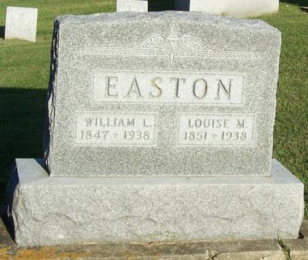 EASTON, LOUISE M - Winneshiek County, Iowa | LOUISE M EASTON