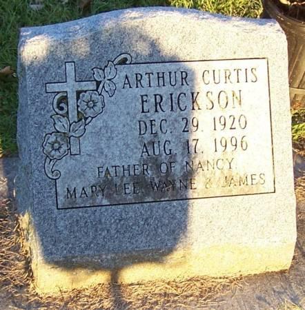 ERICKSON, ARTHUR CURTIS - Winneshiek County, Iowa | ARTHUR CURTIS ERICKSON