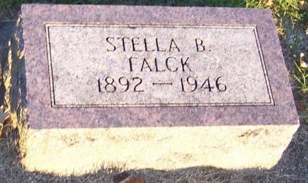 FALCK, STELLA B - Winneshiek County, Iowa | STELLA B FALCK