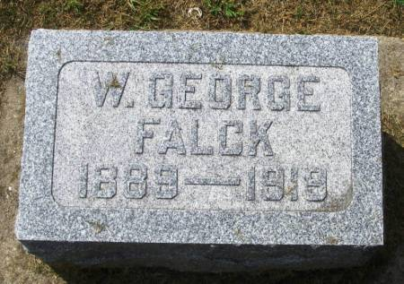 FALCK, W GEORGE - Winneshiek County, Iowa | W GEORGE FALCK