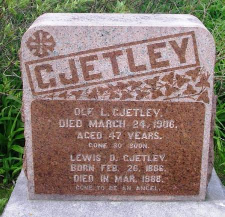 GJETLEY, OLE L. - Winneshiek County, Iowa | OLE L. GJETLEY