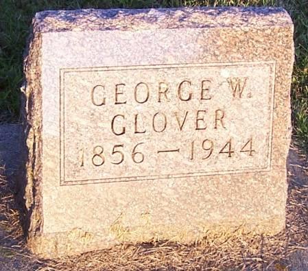 GLOVER, GEORGE W. - Winneshiek County, Iowa   GEORGE W. GLOVER