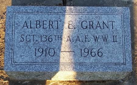 GRANT, ALBERT E. - Winneshiek County, Iowa   ALBERT E. GRANT