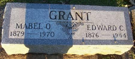 GRANT, MABEL O - Winneshiek County, Iowa   MABEL O GRANT