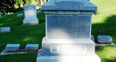 GREER, ROBERT FAMILY STONE - Winneshiek County, Iowa | ROBERT FAMILY STONE GREER