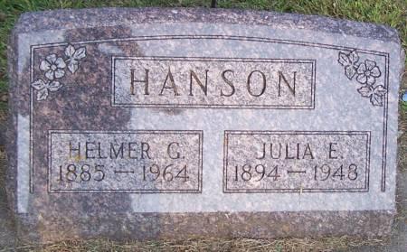 HANSON, HELMER G. - Winneshiek County, Iowa | HELMER G. HANSON