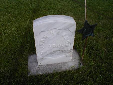 HARMON, JOHN - Winneshiek County, Iowa   JOHN HARMON
