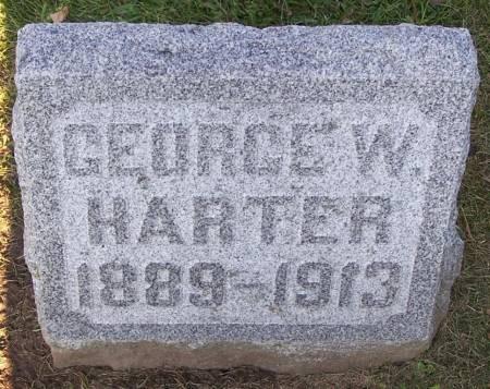 HARTER, GEORGE W. - Winneshiek County, Iowa   GEORGE W. HARTER
