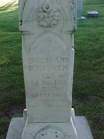 HAUGEN, GULBRAND B. - Winneshiek County, Iowa | GULBRAND B. HAUGEN