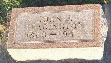 HEADINGTON, JOHN J. - Winneshiek County, Iowa | JOHN J. HEADINGTON