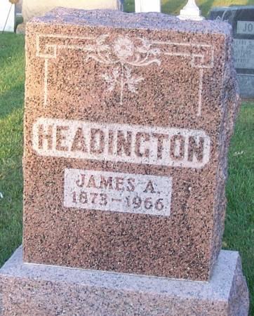 HEADINGTON, JAMES A - Winneshiek County, Iowa | JAMES A HEADINGTON