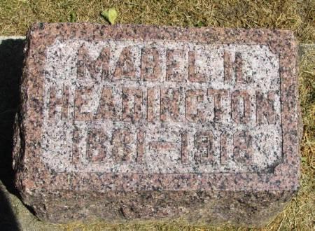 HEADINGTON, MABEL H. - Winneshiek County, Iowa | MABEL H. HEADINGTON
