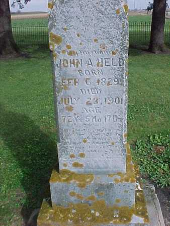 HELD, JOHN A. - Winneshiek County, Iowa | JOHN A. HELD